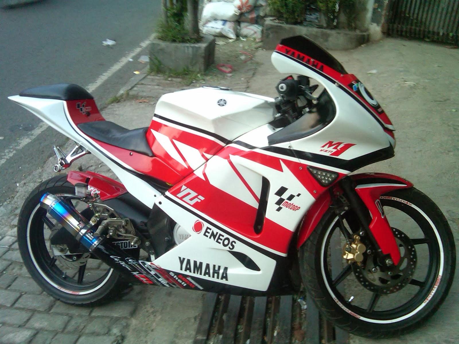 Sangarnya Hasil Modifikasi Motor Yamaha Vixion 2013