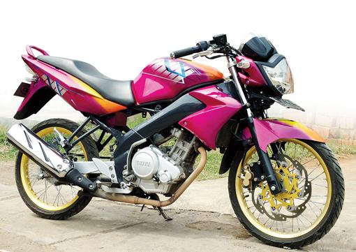 Yamaha Vixion '10 : Street Racing