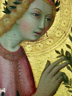 Sano di Pietro - Îngerul Bunei-Vestiri