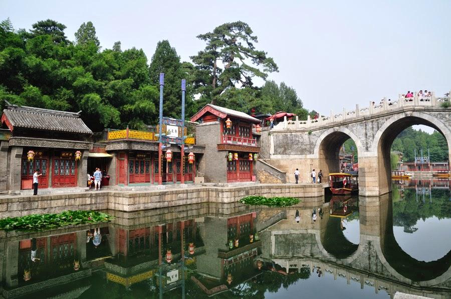 El Palacio de Verano en Beijing, China