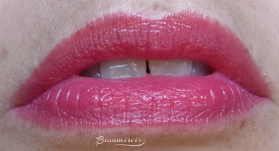 Lancôme Shine Lover Lipstick in Corail Lover (140) lip swatch