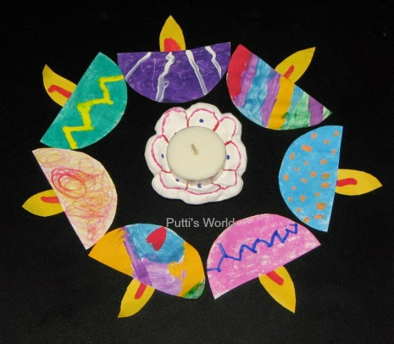 Diwali Kids Craft
