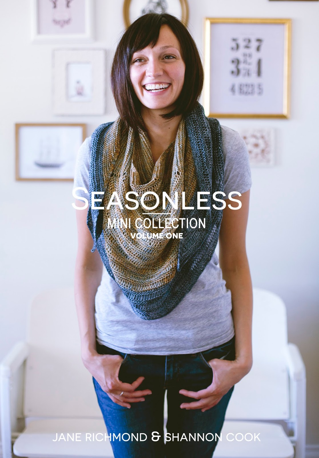 SEASONLESS: Mini Collection, Volume 1 by Jane Richmond and Shannon Cook #SEASONLESSknits #knitting #eBook #book #patterns