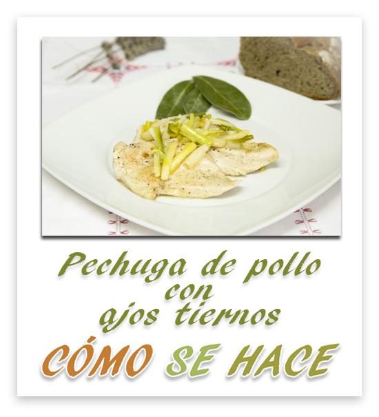 PECHUGA DE POLLO...