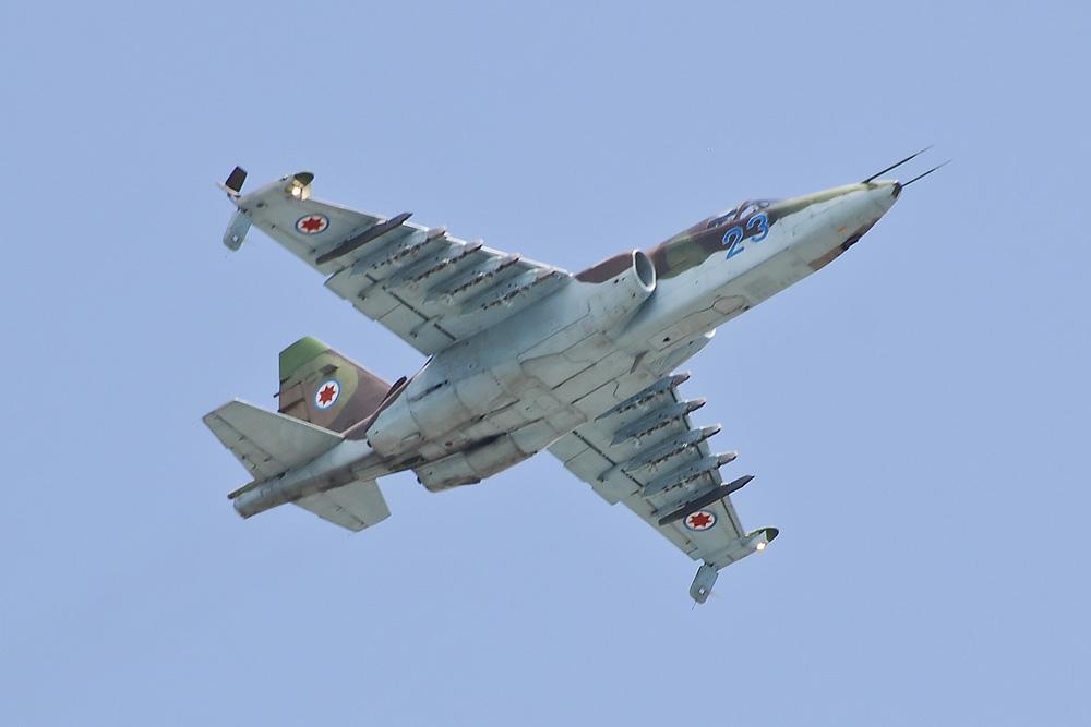 التخطيط لانتاج مقاتلات ذات انتاج مشترك جورجي-اذربيجاني SU-25B+Frogfoot-A++23++++05-11