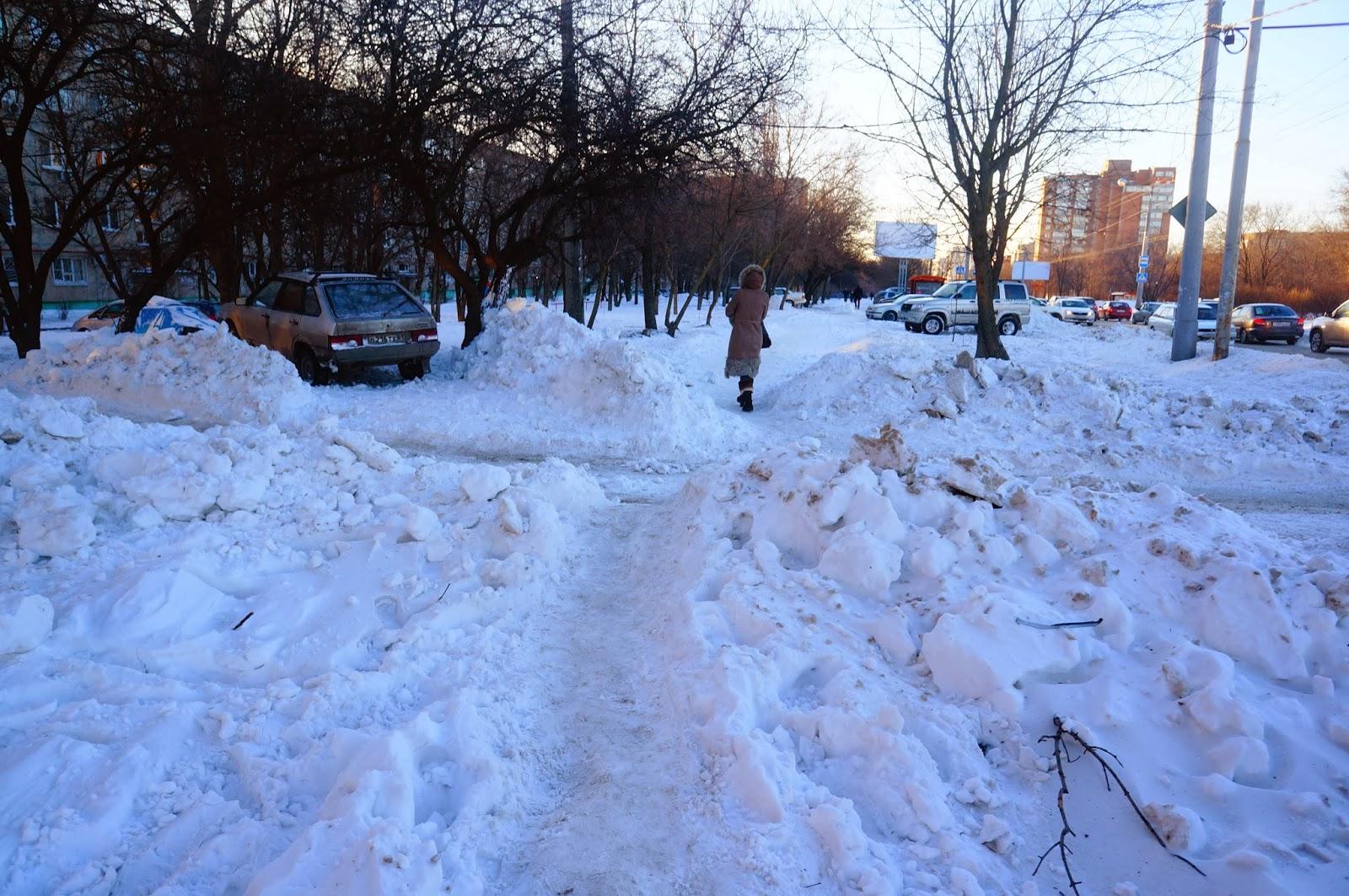 Снежный Ростов 2014