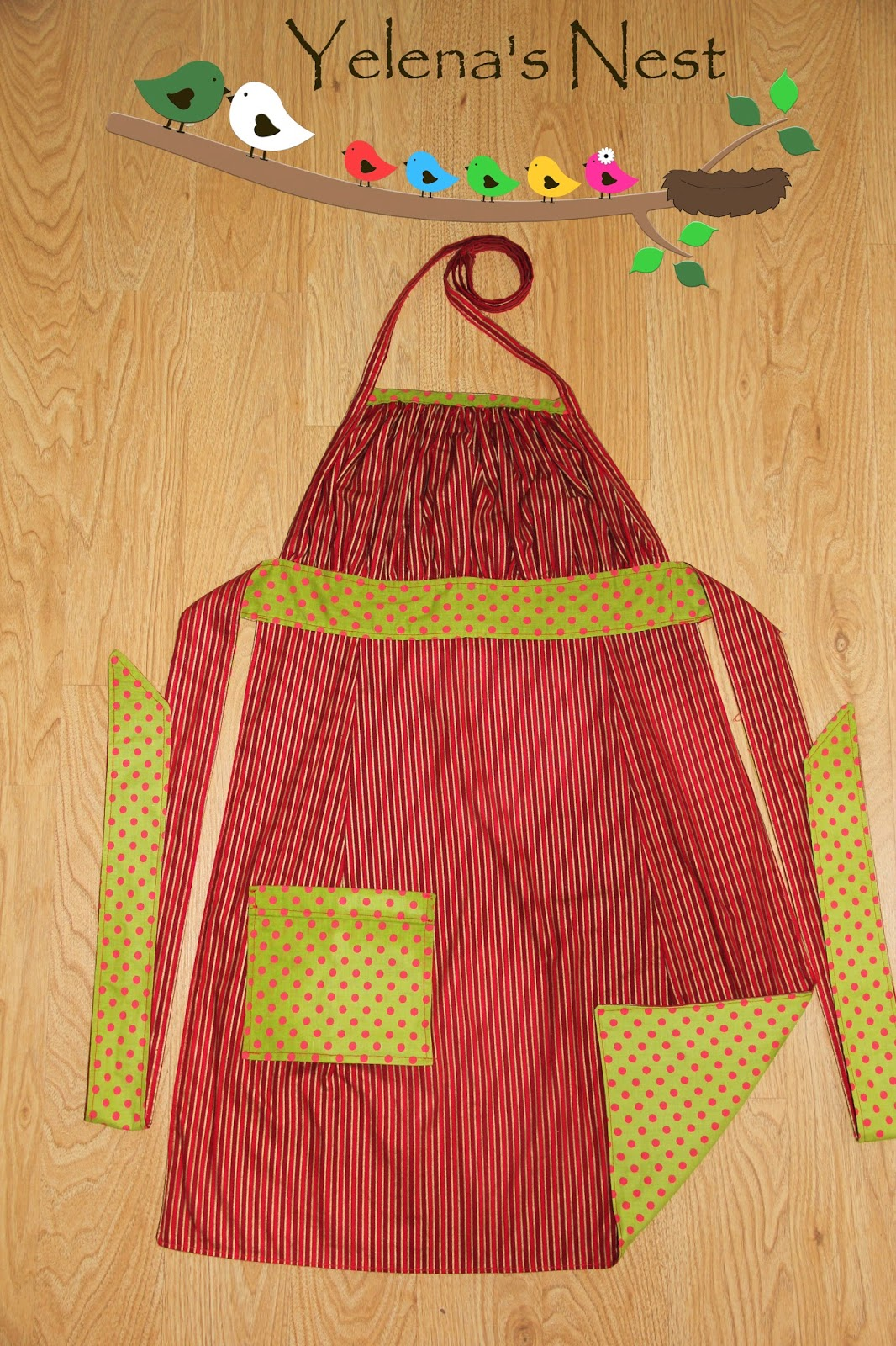 White apron joann fabrics - Provided Of Course That We Use Current Jo Ann S Fabric And That The Colors Go With The Season Right Now The Season Is Christmas Winter So I Made Myself