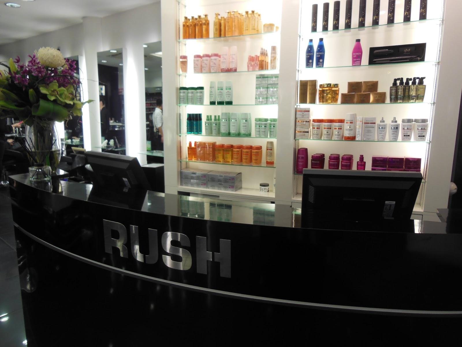 Rush hair tottenham court road