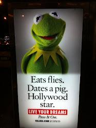 Kermit goes to Manhattan