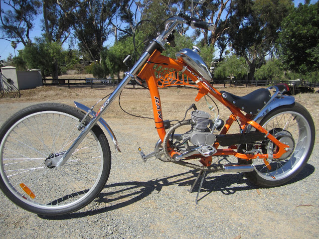 bikeexpress custom motorized bicycles los angeles