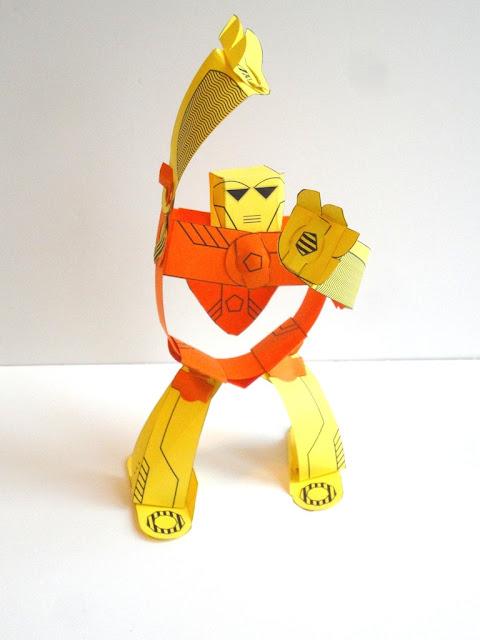 Ango Paper Toy