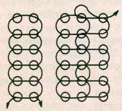 Схема плетения орнамента