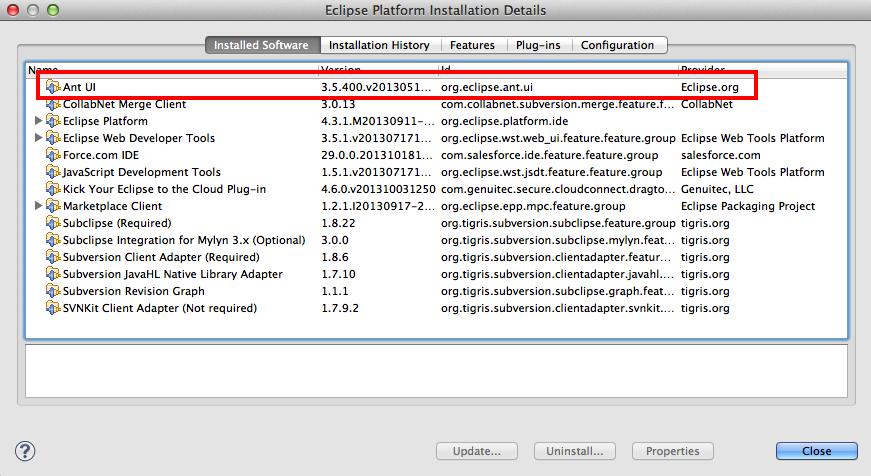 Download Eclipse Platform Javascript