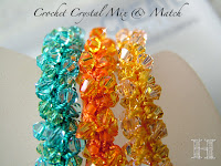 Swarovski Crochet Bangles - Mix n Match