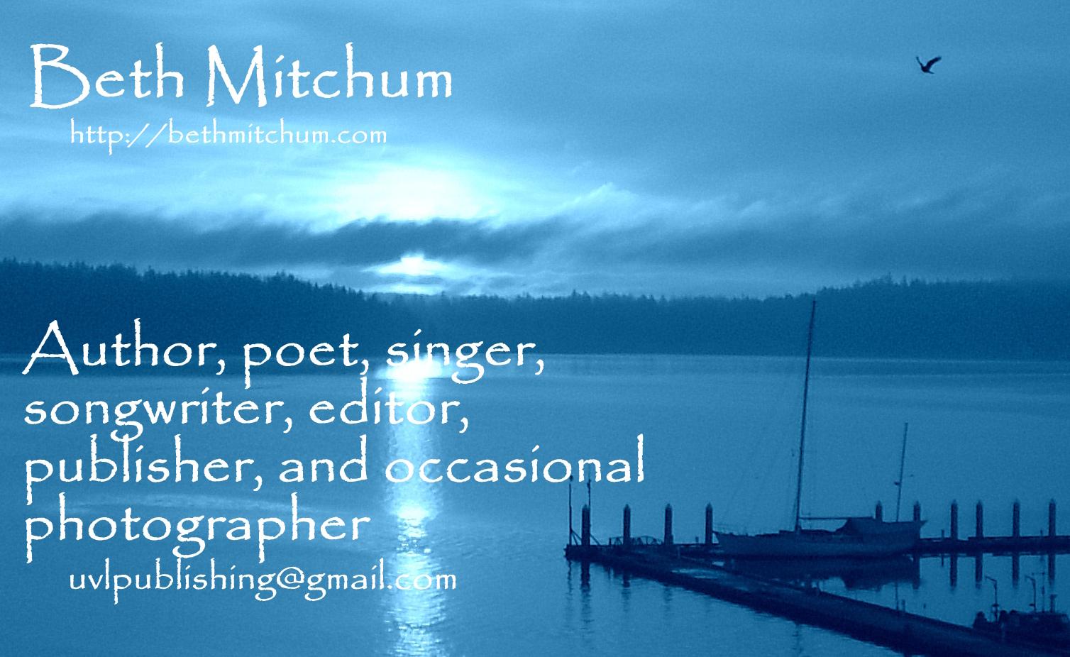 Beth Mitchum Miscellany