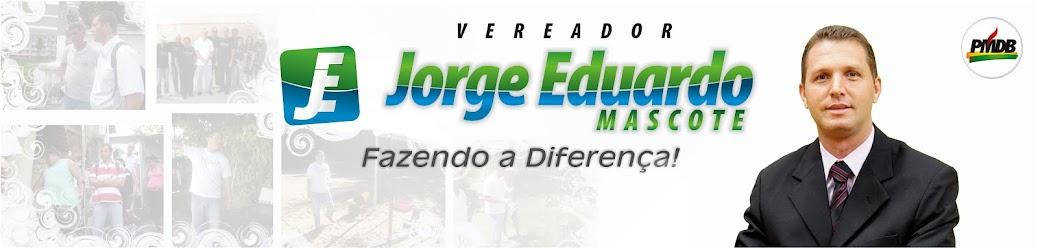 Vereador Jorge Eduardo Mascote