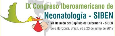 SIBEN CONGRESO NEONATOLOGIA 2012 BRASIL