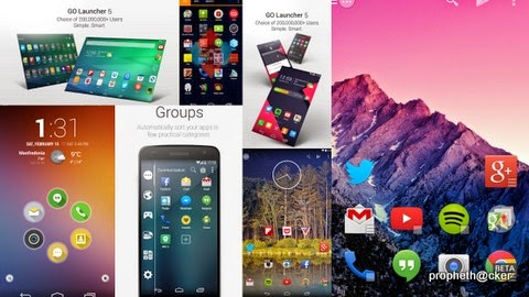 Top 5 Best Free Android Launcher Apps