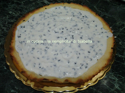 crostata al cannolo siciliano