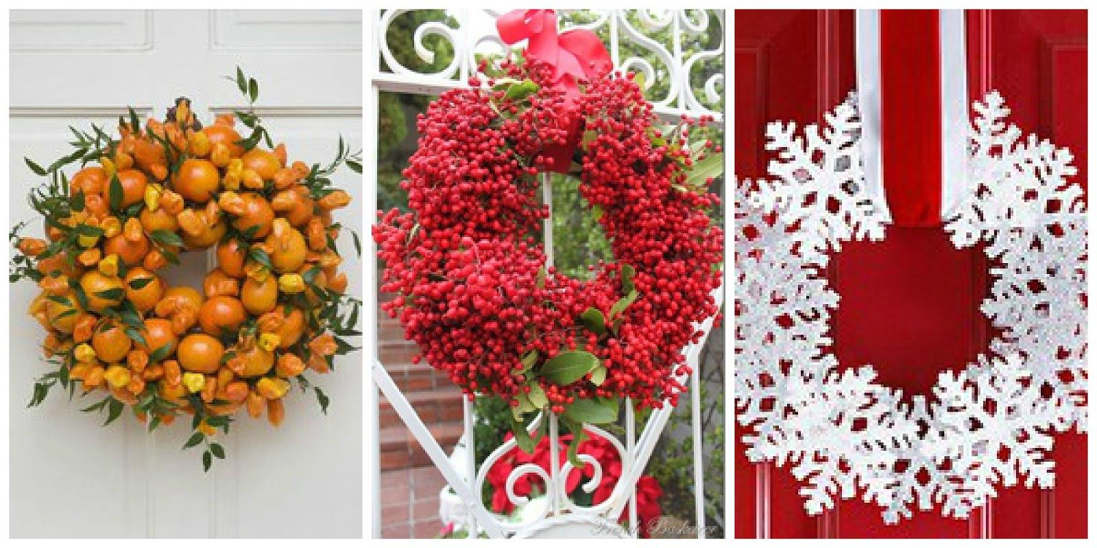Il giardino di fasti floreali ghirlande natalizie come for Ghirlande natalizie di carta