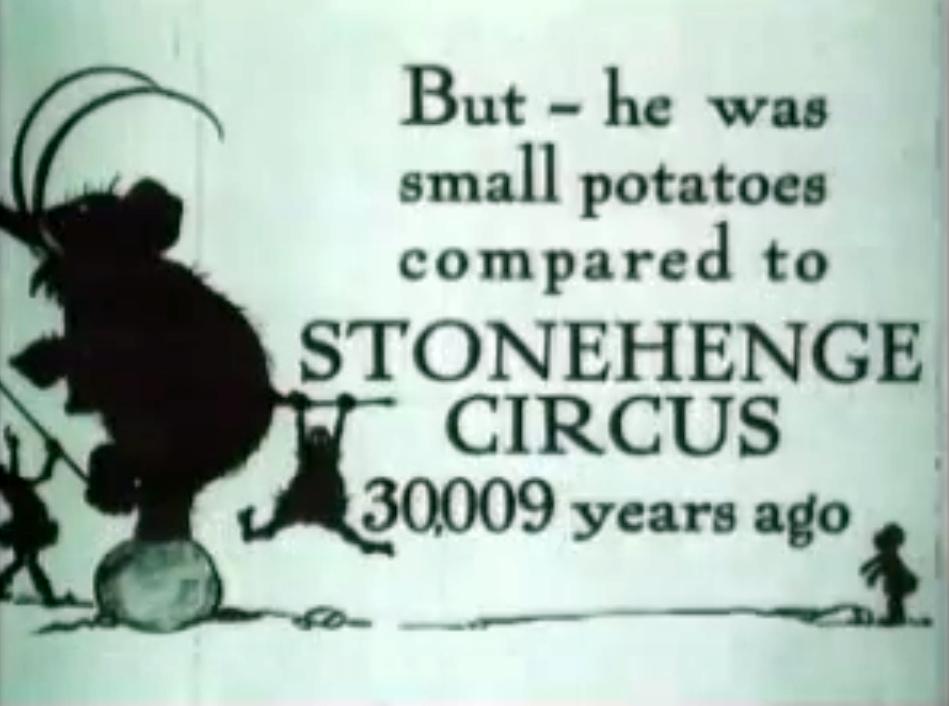 nuncalosabre. The First Circus - Tony Sarg (1921)