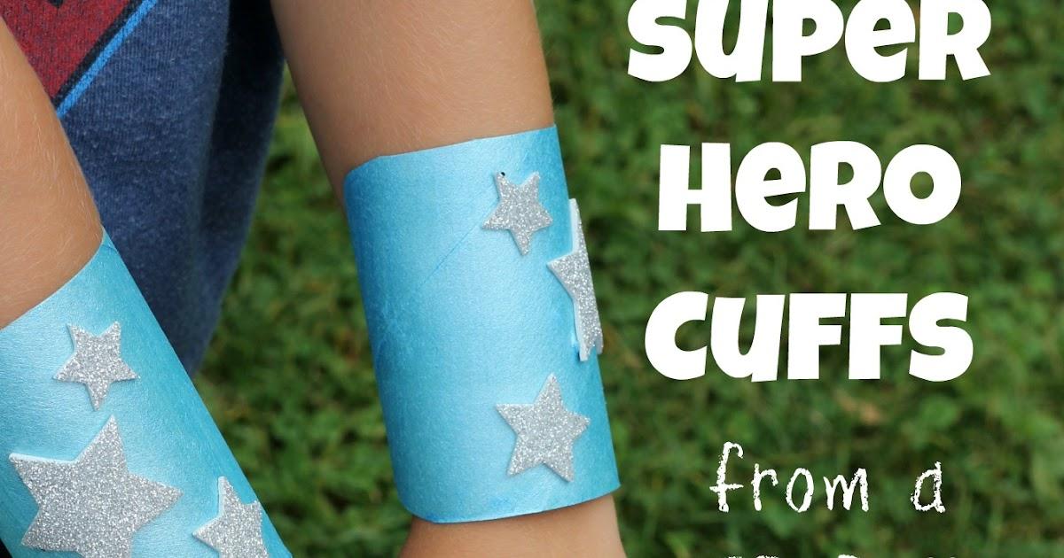 TP Roll Super Hero Cuffs