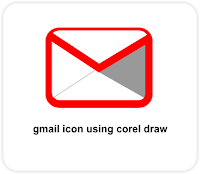 Gmail Icon Corel Draw Tutorial