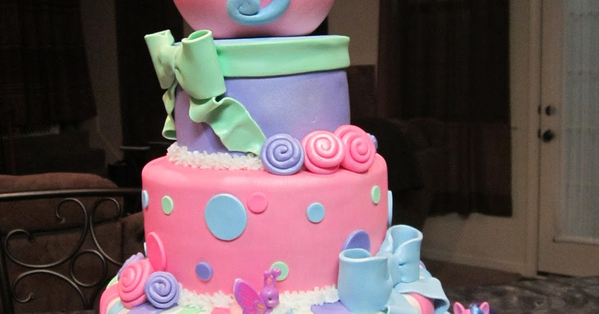Mymonicakes My Little Pony Teacup Cake