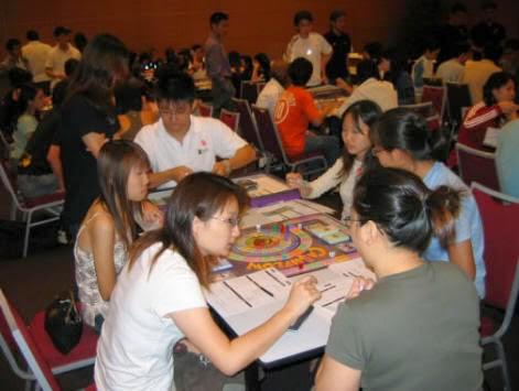 Chơi game cashflow tại Singapor
