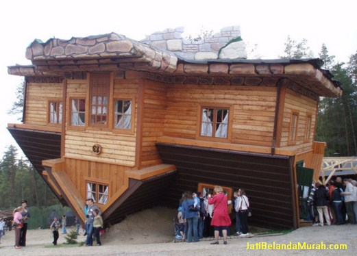 Rumah Kayu jati belanda terbalik
