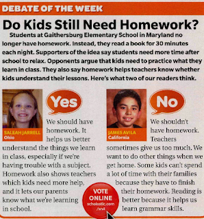 should students do homework