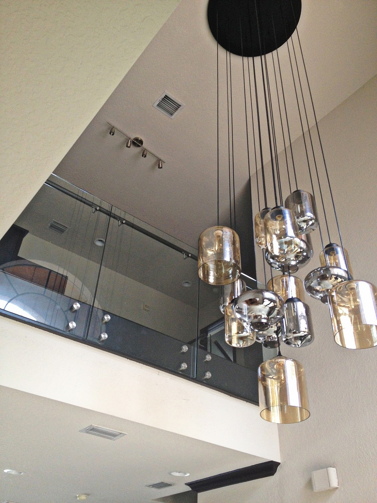 Foyer Chandelier Modern : The cuban in my coffee project sneek peak custom