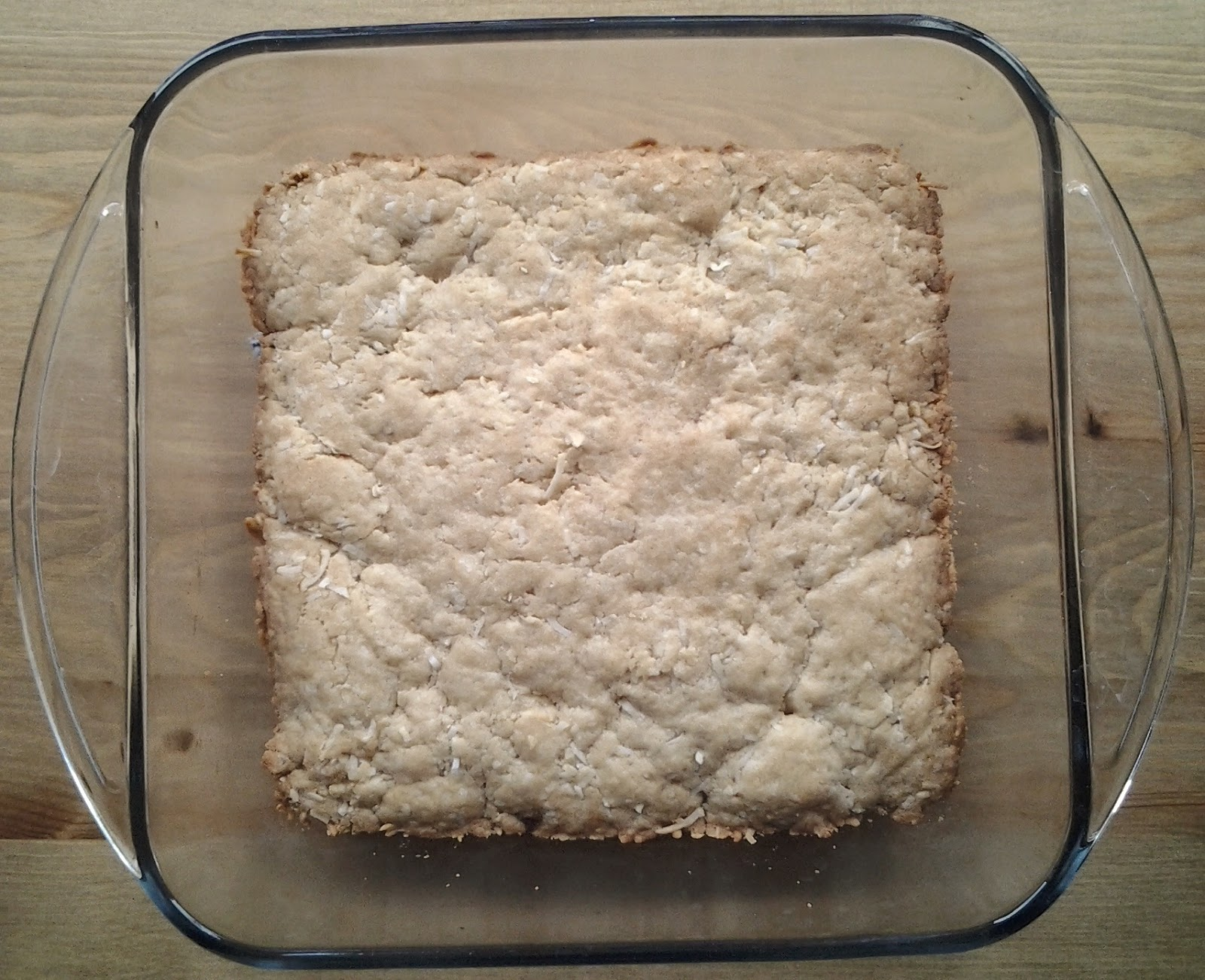 coconut blondies recipe