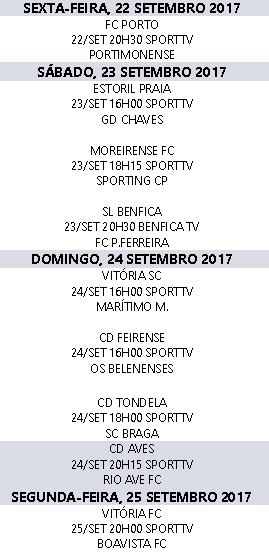 Liga Nós 2017-2018 7ºJornada