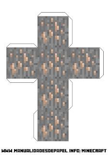 Crear bloque minecraft de hierro