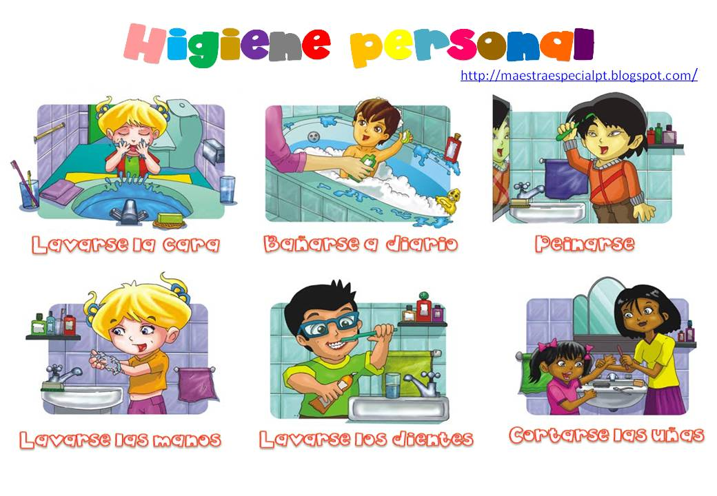 Dibujos infantiles de higiene personal - Imagui