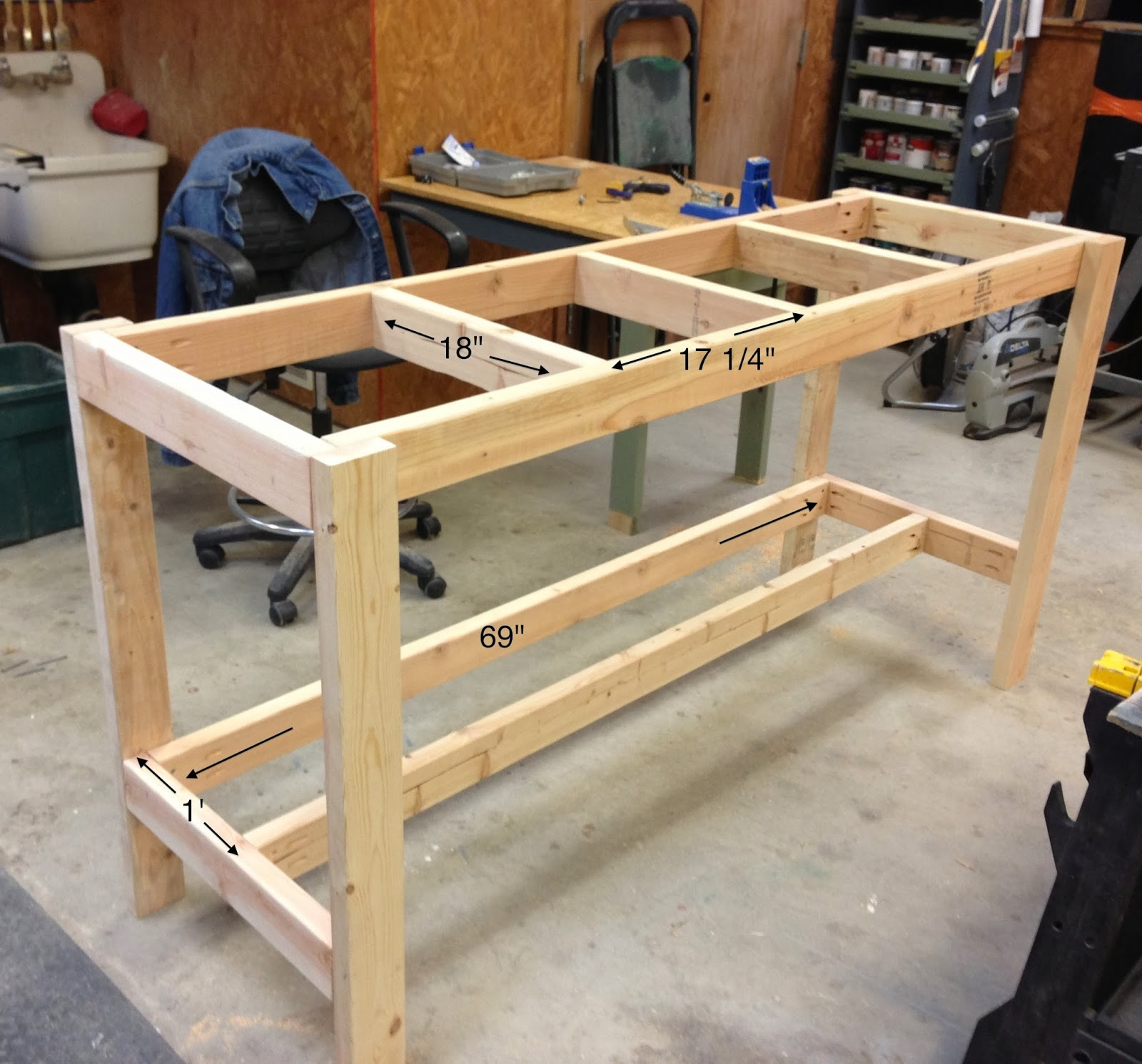 Wilker Dos DIY Workbench