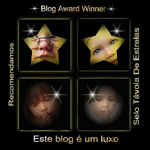 Selo Távola de Estrelas para Blogs premiados em: Este Blog é um Luxo ao Borboletas de Jade