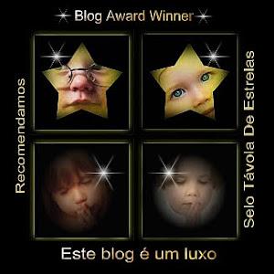 Selo Távola de Estrelas para Blogs premiados em: Este Blog é um Luxo ao Borboletas de Jade
