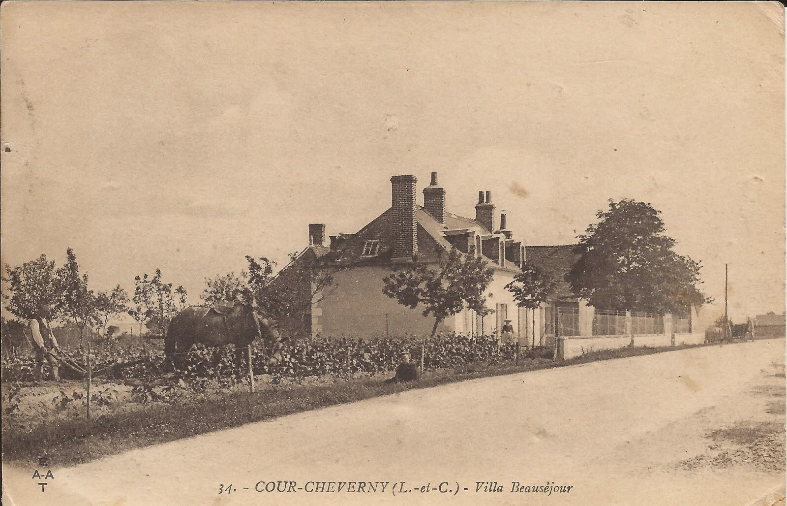 Villa Beauséjour - Cour-Cheverny