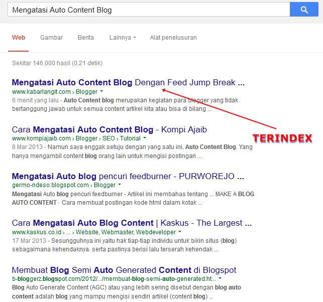 Submit Artikel Blog Terbaru Agar Cepat Terindex Google