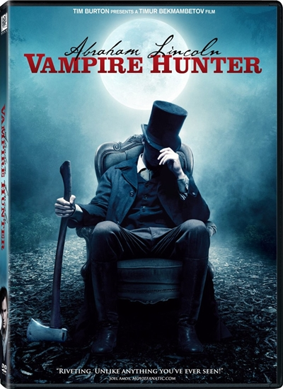 Abraham Lincoln Vampire Hunter DVDR NTSC Español Latino Menu Full