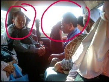 Dua Pencopet di Angkot Jakarta Disebar Facebooker