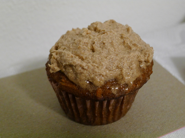 ... - Apple Cupcakes w/Honey Cinnamon Frosting | Much Ado About Fooding