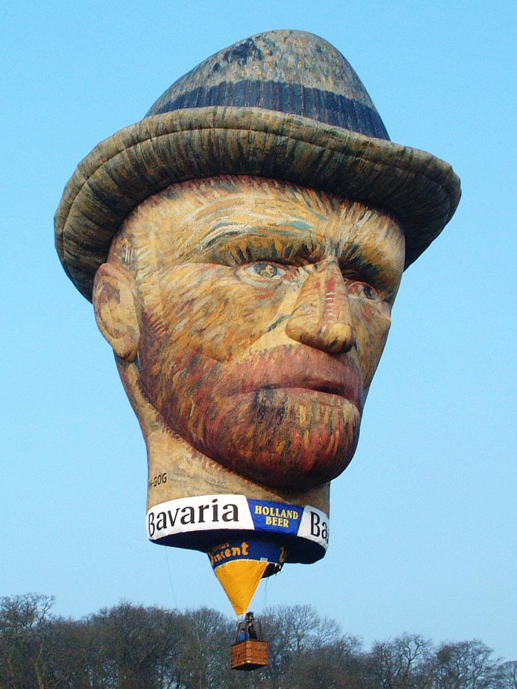 Van Gogh Balloon fro Netherlands will be at 7th Putrajaya International Hot Air Balloon Fiesta 2015