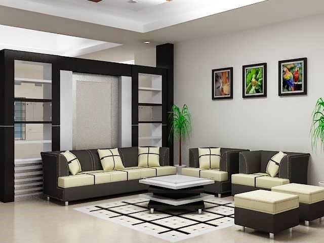 Merancang denah rumah minimalis dengan model rumah mewah for 8x8 living room ideas