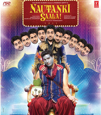 Nautanki Saala! (2013) Hindi Movie Poster