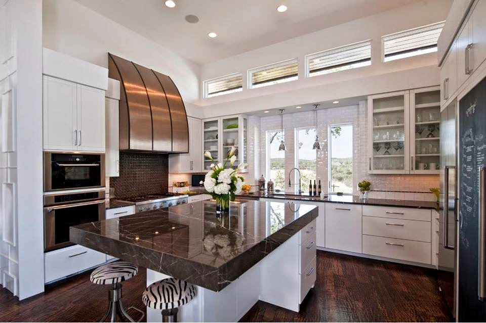 fotos muebles de cocina modernos - 25 imágenes de cocinas minimalistas Interiores Minimalistas