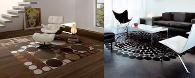 salones con alfombra