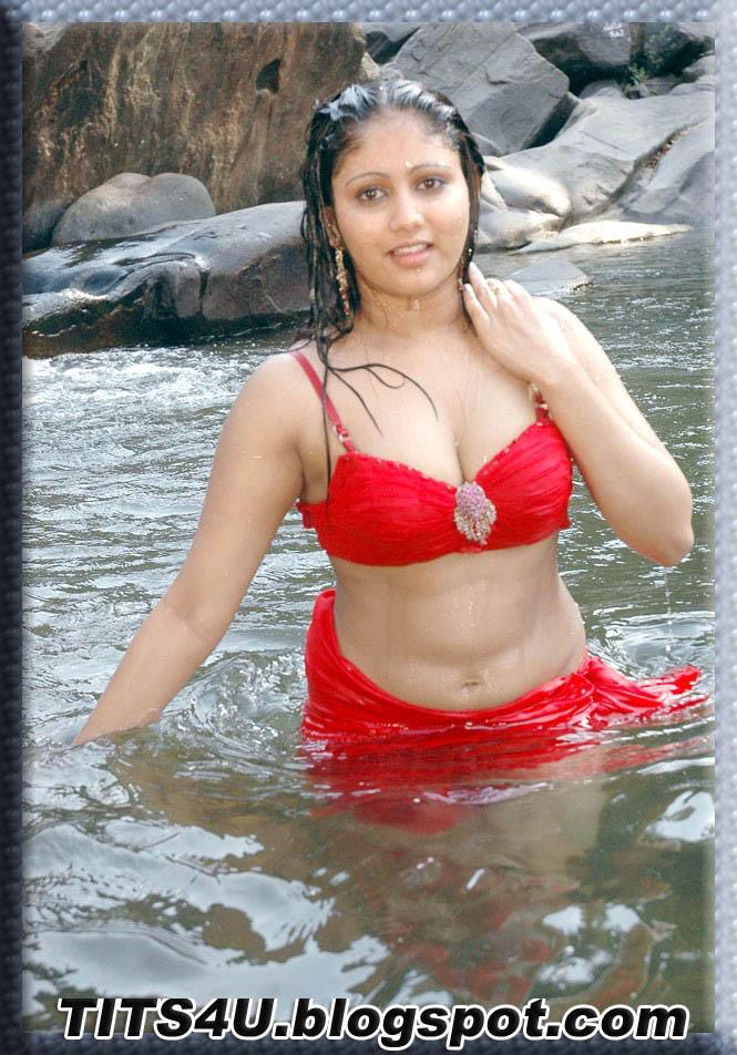 ... armpits telugu actress amruthavalli showing her navel and armpits